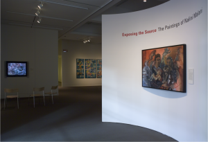 Exposing the Source: Paintings by Nalini Malani PEM photo by Walter Silver